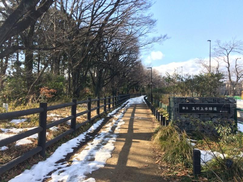 【14:00】「浅間橋」から「玉川上水緑道」を散策