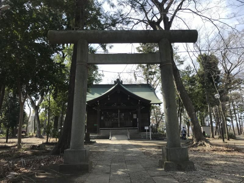 【10:50】「浅間(せんげん)神社」に参拝