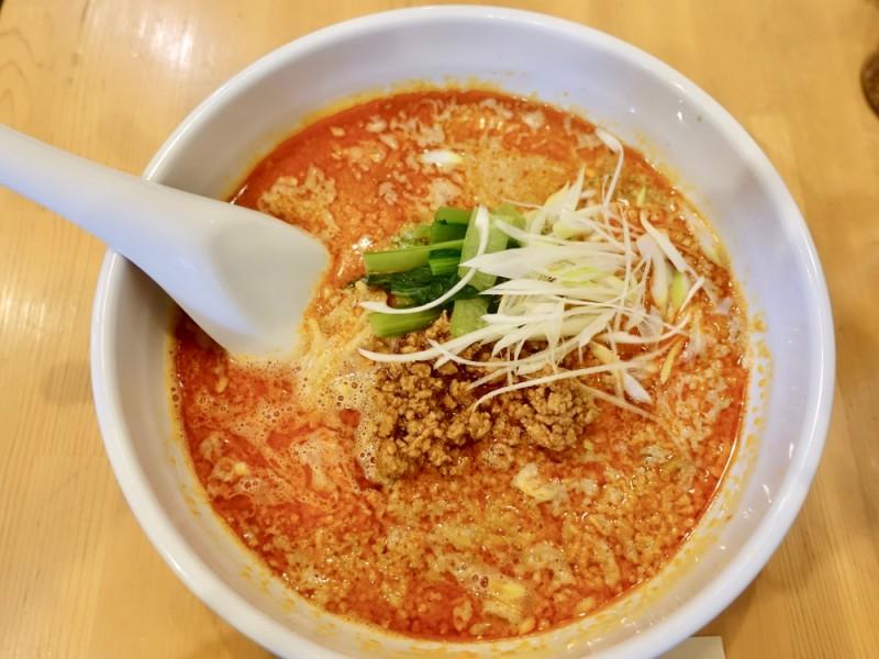 【18:00】「四川料理 担古麻 tancoma」で名物の坦々麺を食べる