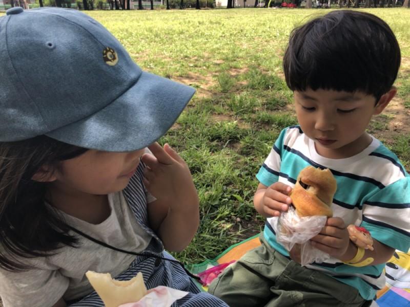 【11:00】「善福寺川緑地」「杉並児童交通公園」でランチ&遊ぶ!