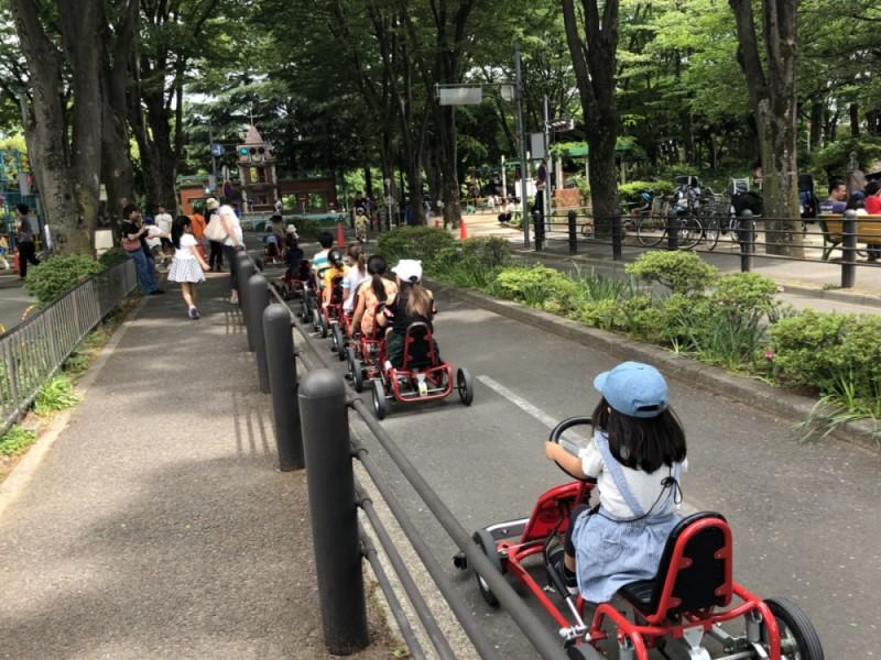パンを持ってピクニック!たっぷり遊べる「善福寺川緑地」と「杉並児童交通公園」をダブルで楽しむ浜田山親子おでかけコース