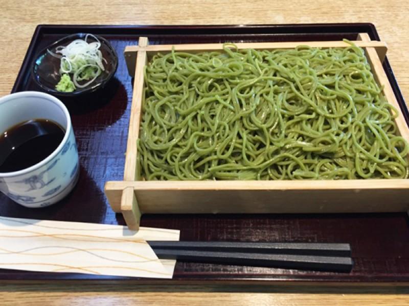 【12:30】「茶そば いな垣」にて昼食