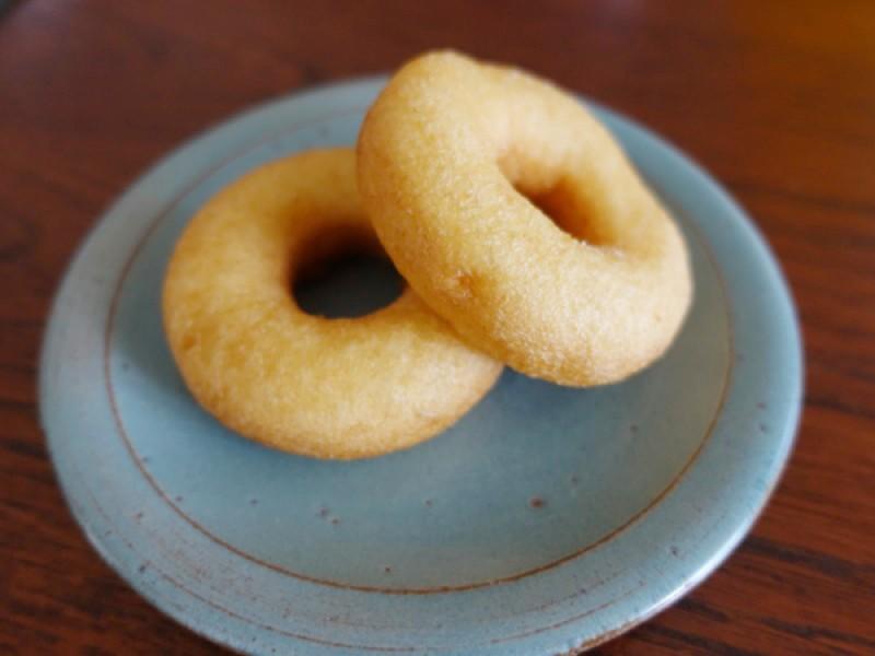 【14:00】「美濃屋豆腐店」で豆乳ドーナッツを購入