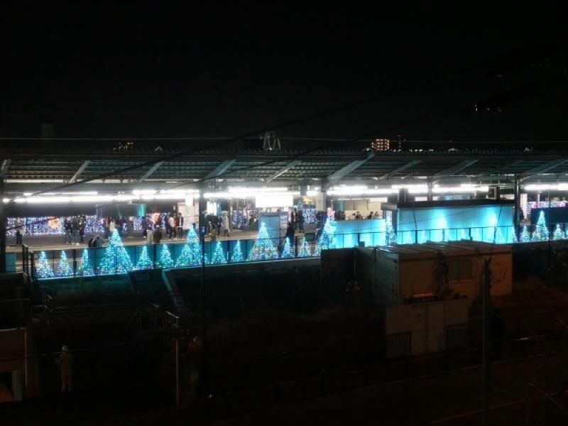 【21:00】相模原線「京王よみうりランド駅」にゴール