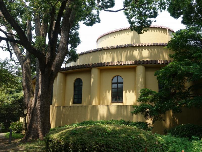 【13:30】「旧多摩聖蹟記念館」を見学