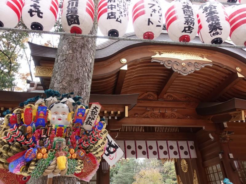 【12:00】「大國魂神社 」にある「大鷲大神(おおとりのおおかみ)」に参拝