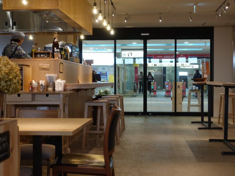 【15:30】「武蔵野台商店」でカフェタイム