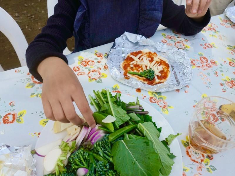 【11:30】「山内ぶどう園」で青空クッキング&青空レストランで昼食を!