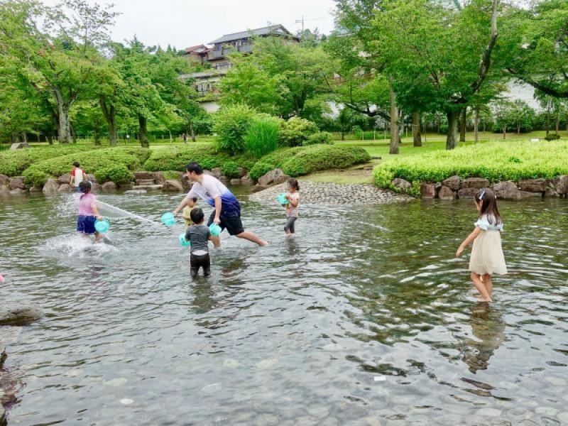 【13:00】都立「陵南公園」で遊ぶ
