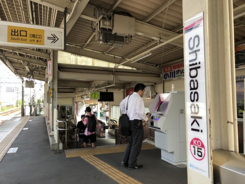 【12:00】「柴崎駅」スタート