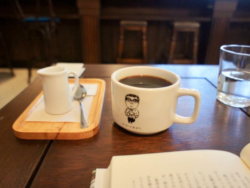 【15:40】「本とコーヒー tegamisha」でカフェタイム