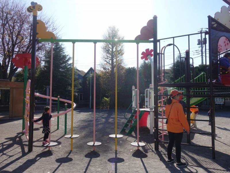 【13:00】「八雲台公園」で遊ぶ
