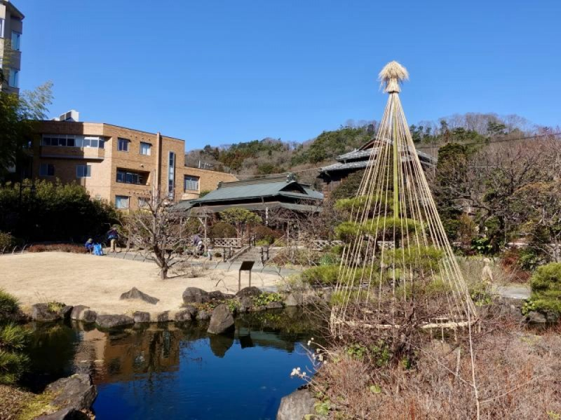 【11:00】「高尾駒木野庭園」を散策