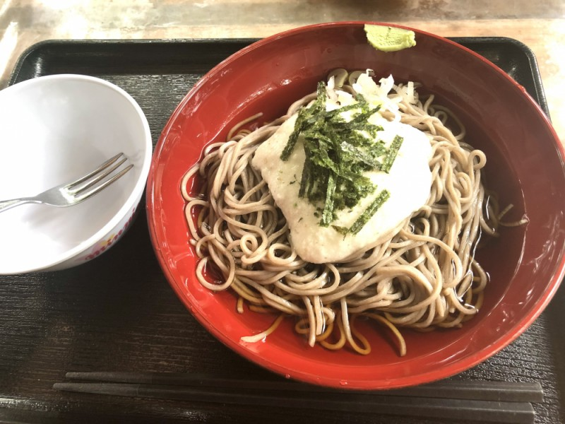 【11:30】「やまびこ茶屋」で冷たいお蕎麦ランチ