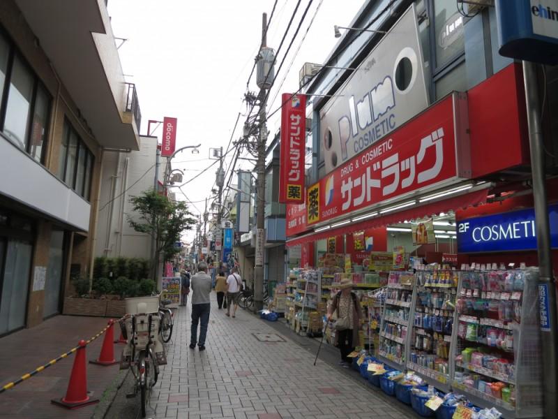 【11:20】「仙川商店街」を散策