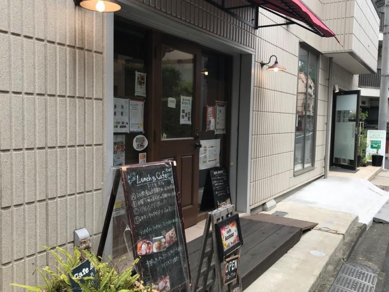 【16:00】「Cafe Anmar」でまったりティータイム