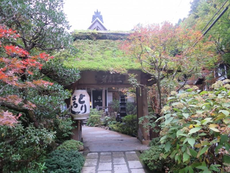 【12:00】「うかい鳥山」で季節のお料理を堪能