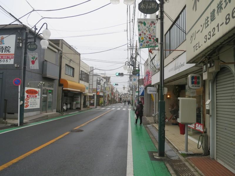 【11:10】「しあわせの街 永福町商店街」を散策