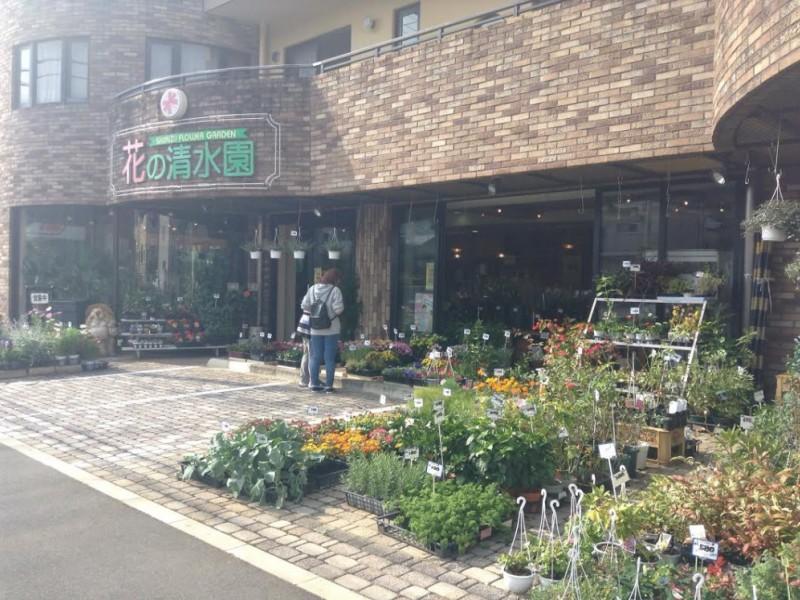 【13:30】「花の清水園」でお土産を購入
