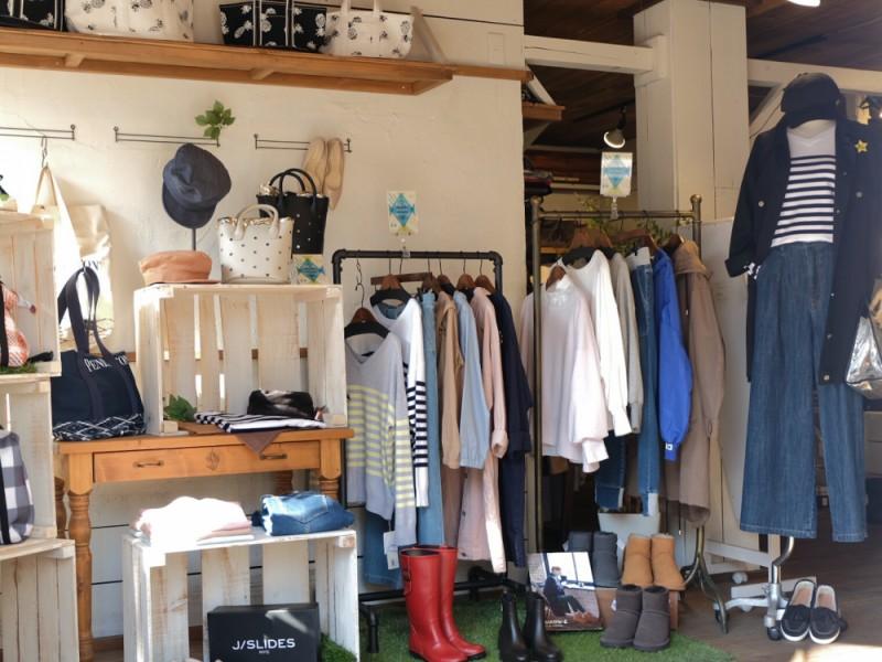【14:40】インポートセレクトショップ「Burlywood 仙川店」で春物ショッピング