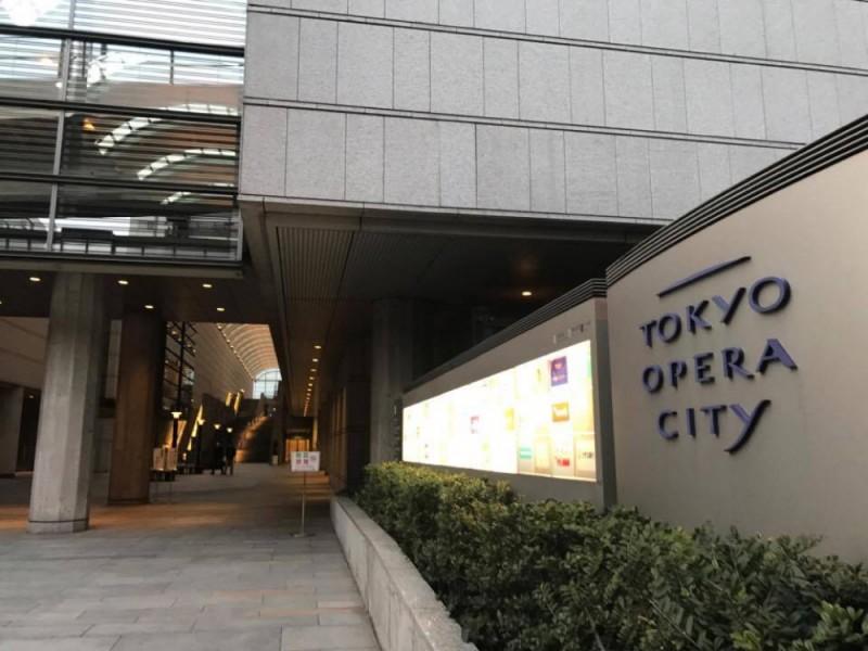 【18:15】「東京オペラシティ」を散策&コンサート鑑賞