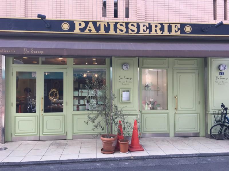 【14:00】おしゃれな外観、可愛いケーキに心奪われる「Patisserie Yu Sasage(パティスリーユウササゲ)」でフォトジェニックなケーキをゲット!