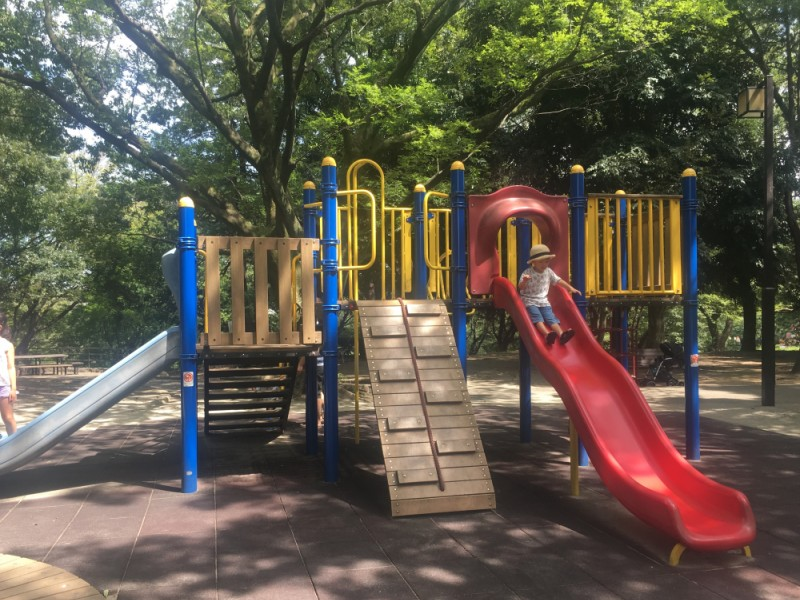 【13:30】「祖師谷公園」で元気に外遊び