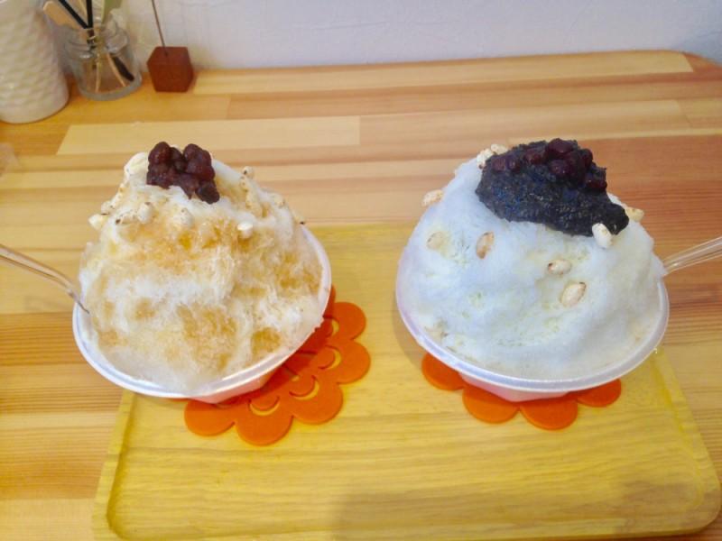 【15:00】「ODANGO CAFE みよし」でインスタ映えするかき氷を食べる
