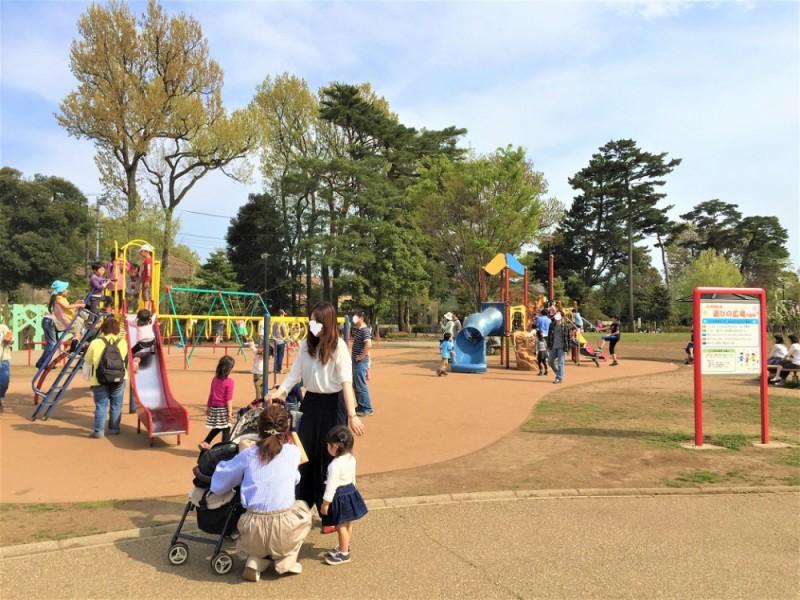 【12:00】「井の頭恩賜公園 西園」の遊具エリアで思いきり遊ぼう!