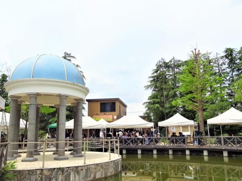 【11:30】京王フローラルガーデン内の「バーベキュービレッジアンジェ」で手ぶらBBQ!