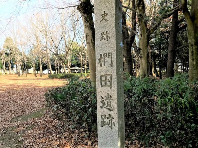 【11:50】「椚田遺跡公園」を散策