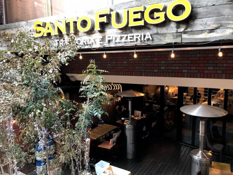 【11:30】「Trattoria e Pizzeria Santo Fuego 橋本(トラットリアピザリアサントフエゴ)」でイタリアンランチ