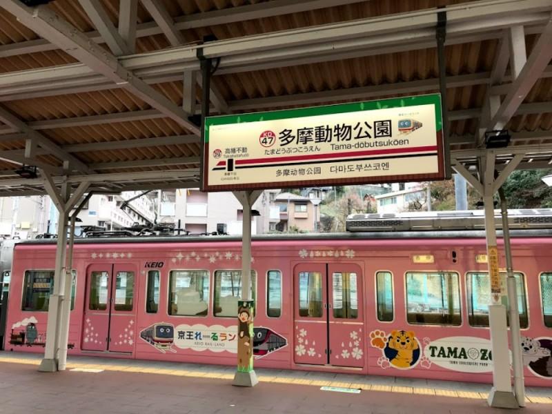 【9:50】動物園線「多摩動物公園駅」スタート