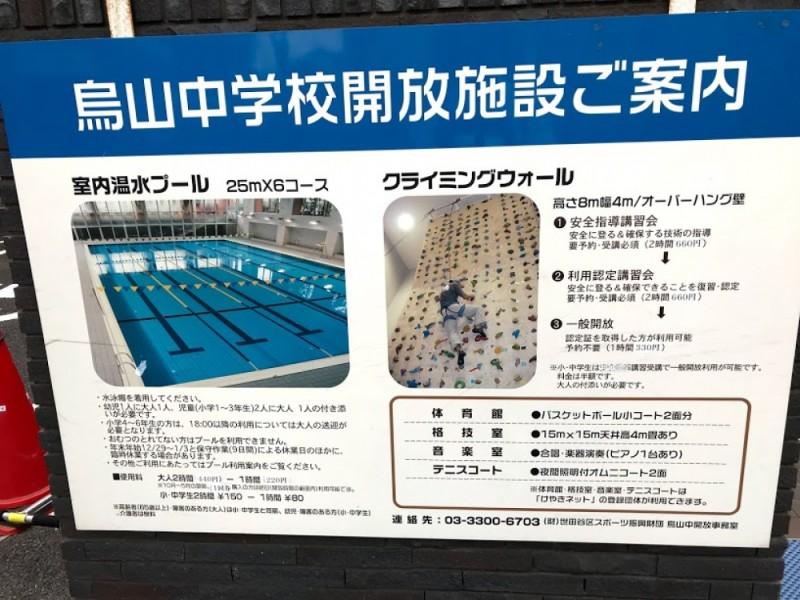 【10:30】「烏山中学校温水プール」でおトクに思いっきり遊ぶ
