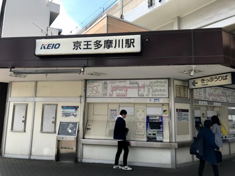 【13:00】「京王多摩川駅」からスタート