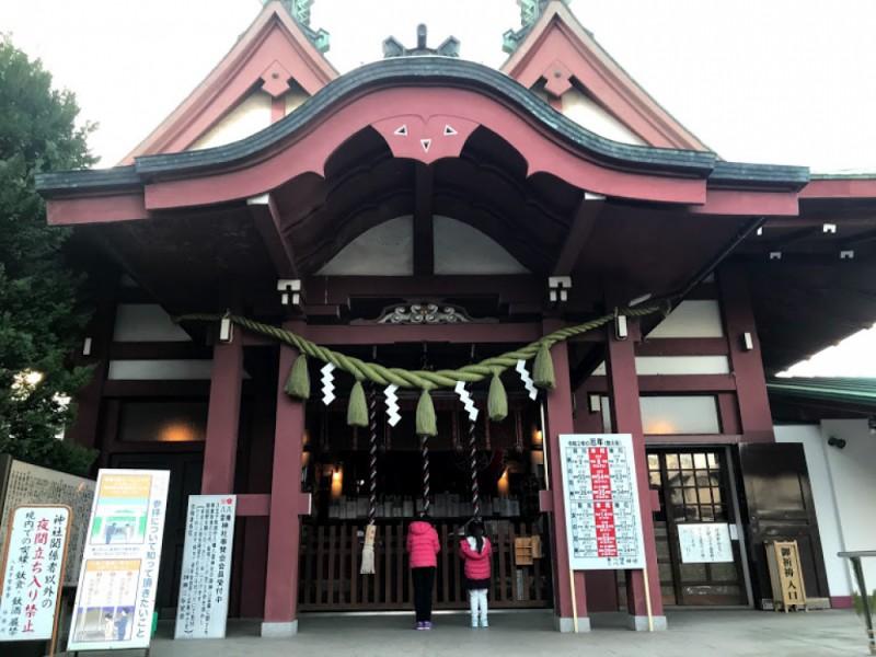 【13:00】「八幡八雲神社」を参拝