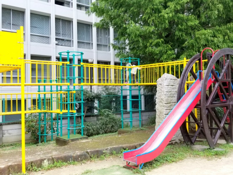 【13:30】「玉川上水公園」で遊ぶ