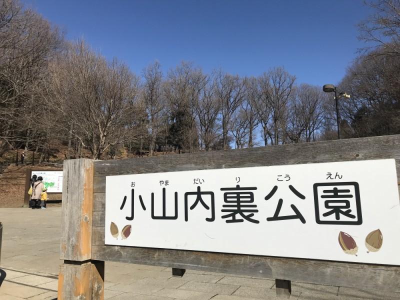 【11:00】広大な自然が残る「小山内裏公園」を散策