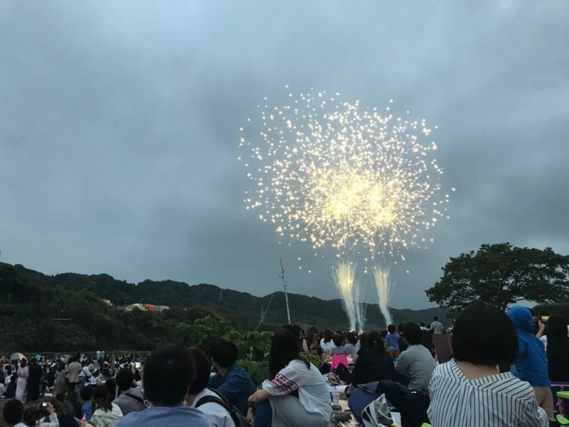 【19:00】「相模原納涼花火大会」打ち上げ開始!