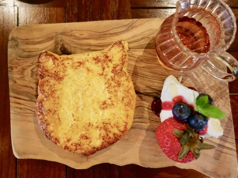 【15:30】「吉祥寺プティット村」の「TEA HOUSE はっぱ」でカフェタイム