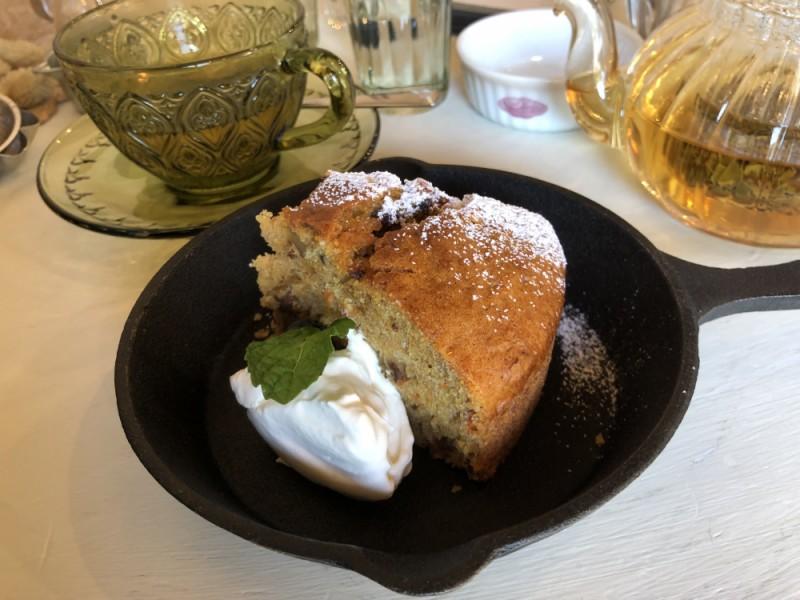 【14:30】「Ouchi cafe」でデザートを楽しむ