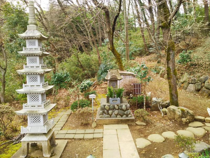 【12:10】本日のハイライト「打越弁財天」と、幻の神社「中谷戸稲荷神社」を目指して探検スタート