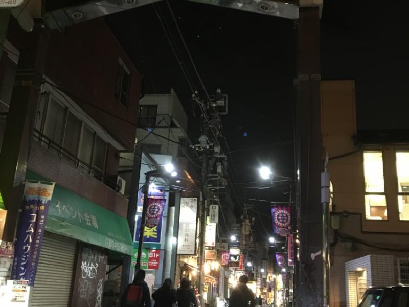 【21:00】下町の活気ある夜の「六号商店街」をぶらり