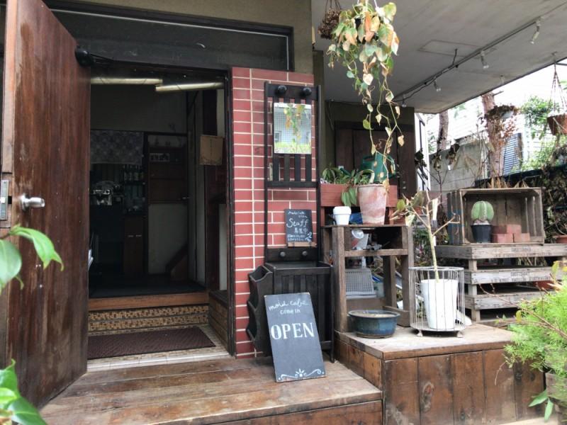 【15:00】「モワ カフェ(mois cafe)」でティータイム