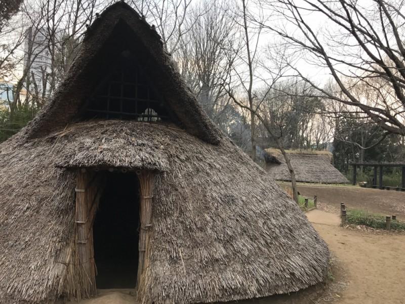 【15:45】「遺跡庭園 縄文の村」を散策