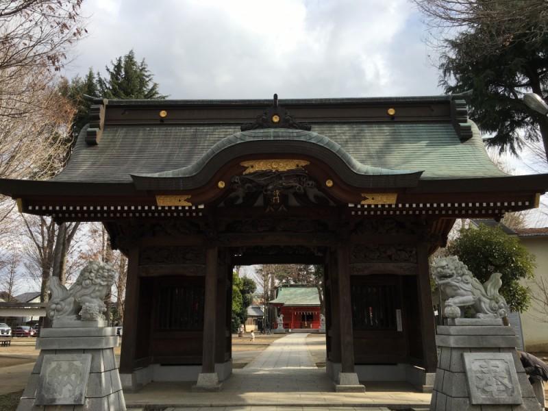 【13:00】「武蔵国一之宮 小野神社」を参拝