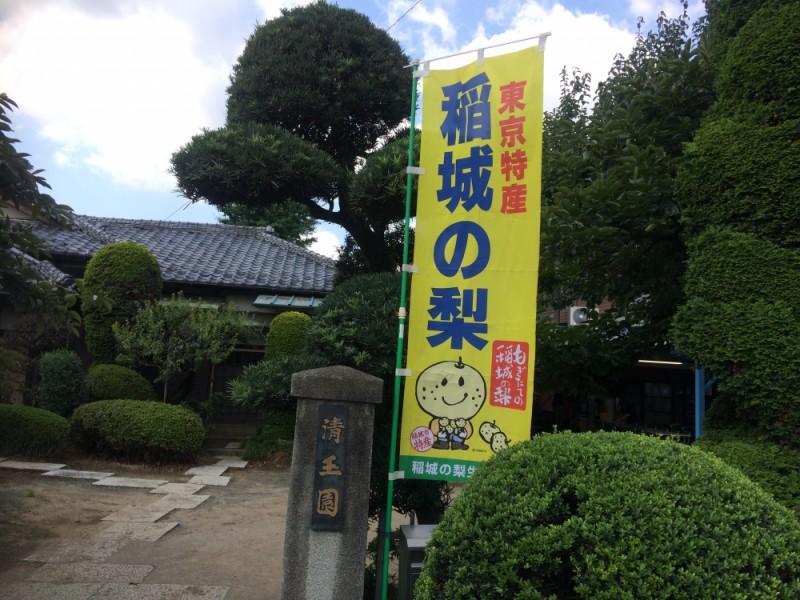 【11:30】稲城最古の梨園「清玉園」で梨狩り