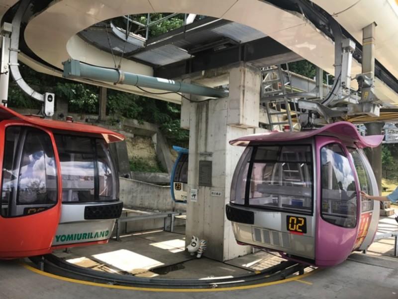 【16:30】「ゴンドラ」に乗って「京王よみうりランド駅」へ