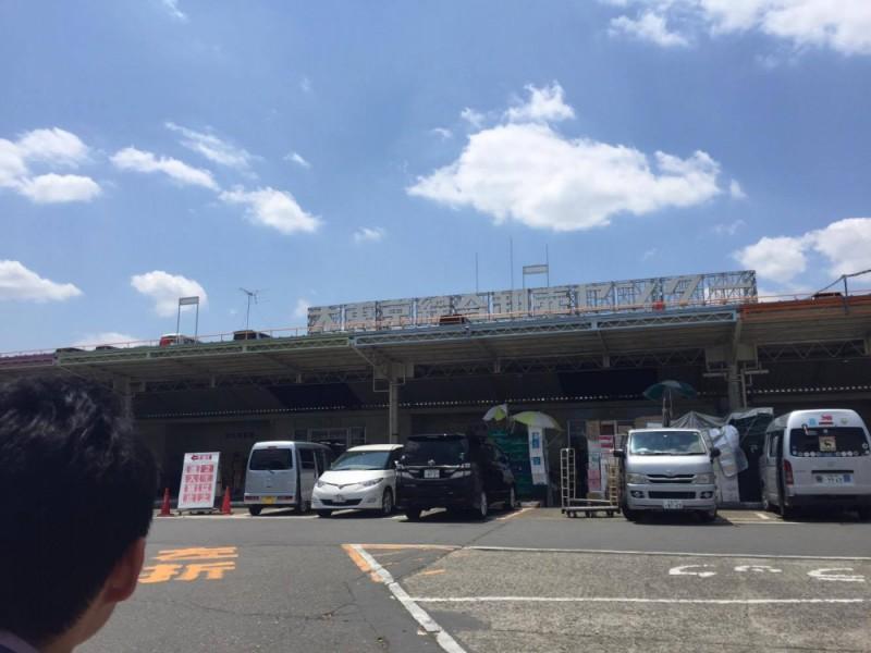 【12:20】一般の方も利用できるキッズウェルカムな市場「大東京綜合卸売センター」へ