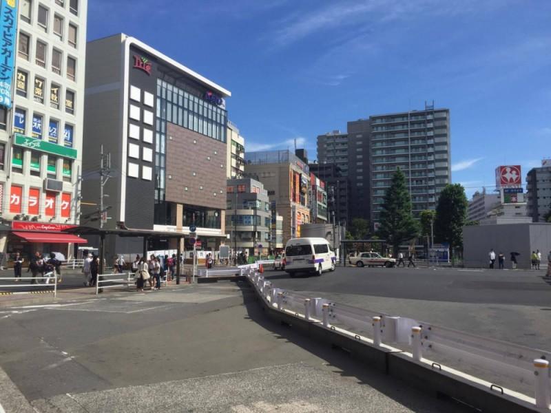 【15:00】京王バスでゴールの京王線「調布駅」に到着